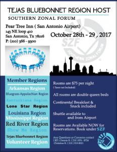 SZF Fall 2017 Flyer